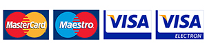 We now accept credit and debit cards!